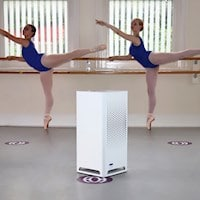 Dance Studio Air Quality Improved with City M Air Purifiers