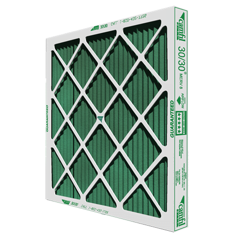 Camfil Farr 3030 MERV 8 Pleated Panel Air Filter
