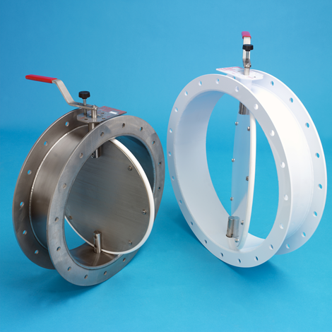 Round Butterfly Isolation Dampers