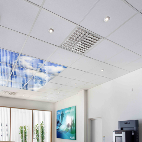 CC 400 Concealed in false ceiling